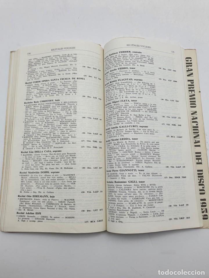Catálogos de Música: LOS DISCOS MICROSURCO ( AÑO 1959 ) CATÁLOGO GENERAL - Foto 8 - 234920310