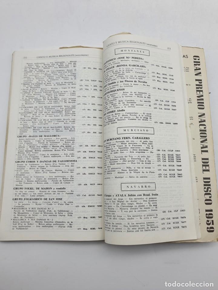 Catálogos de Música: LOS DISCOS MICROSURCO ( AÑO 1959 ) CATÁLOGO GENERAL - Foto 10 - 234920310