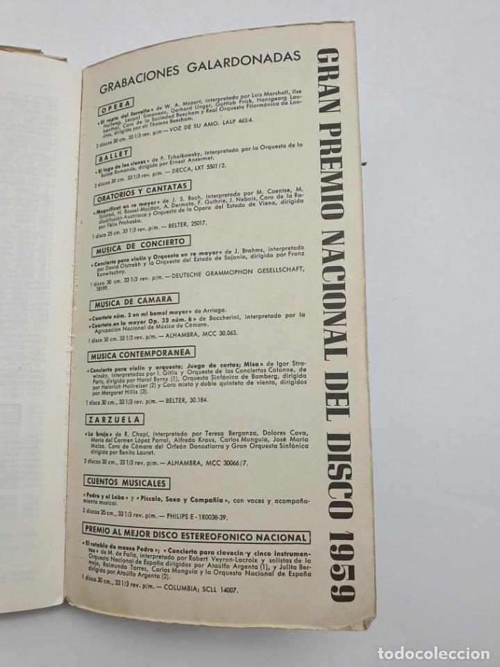 Catálogos de Música: LOS DISCOS MICROSURCO ( AÑO 1959 ) CATÁLOGO GENERAL - Foto 11 - 234920310