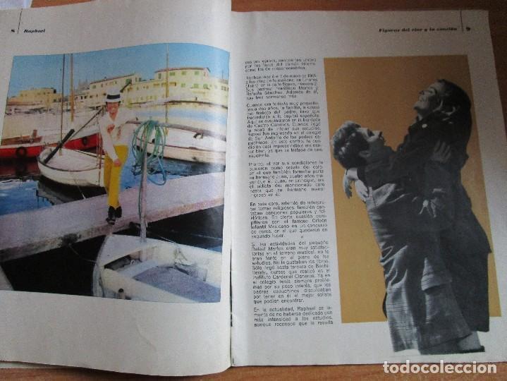 Catálogos de Música: FIGURAS DEL CINE Y LA CANCION BIOGRAFIA COMPLETA DE RAPHAEL , VER LAS FOTOS - Foto 5 - 234929085