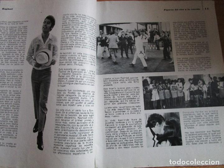 Catálogos de Música: FIGURAS DEL CINE Y LA CANCION BIOGRAFIA COMPLETA DE RAPHAEL , VER LAS FOTOS - Foto 6 - 234929085