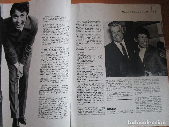 Catálogos de Música: FIGURAS DEL CINE Y LA CANCION BIOGRAFIA COMPLETA DE RAPHAEL , VER LAS FOTOS - Foto 8 - 234929085