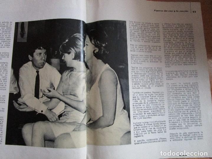 Catálogos de Música: FIGURAS DEL CINE Y LA CANCION BIOGRAFIA COMPLETA DE RAPHAEL , VER LAS FOTOS - Foto 11 - 234929085