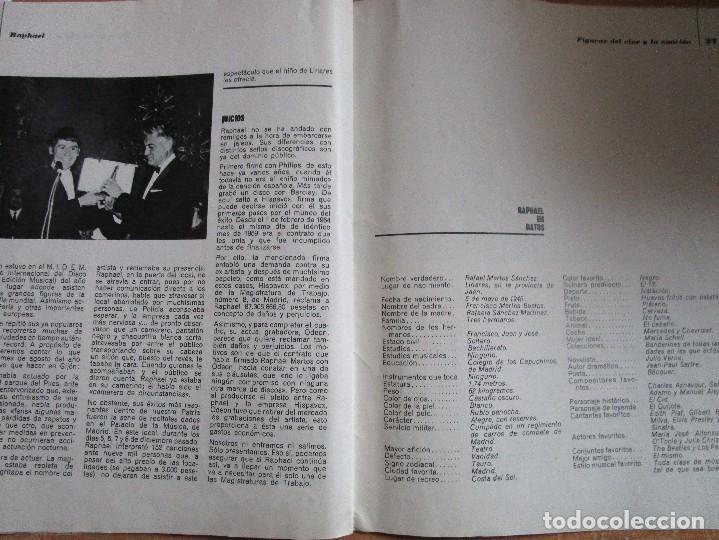 Catálogos de Música: FIGURAS DEL CINE Y LA CANCION BIOGRAFIA COMPLETA DE RAPHAEL , VER LAS FOTOS - Foto 14 - 234929085