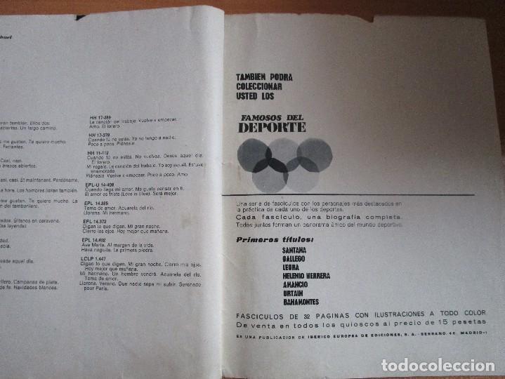 Catálogos de Música: FIGURAS DEL CINE Y LA CANCION BIOGRAFIA COMPLETA DE RAPHAEL , VER LAS FOTOS - Foto 16 - 234929085