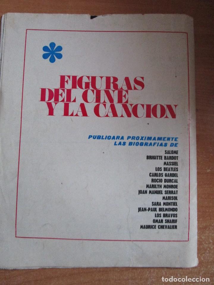 Catálogos de Música: FIGURAS DEL CINE Y LA CANCION BIOGRAFIA COMPLETA DE RAPHAEL , VER LAS FOTOS - Foto 17 - 234929085