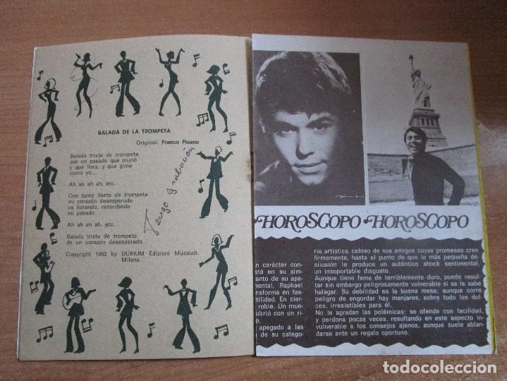 Catálogos de Música: CANCIONERO POPULAR 70 RAPHAEL POSTER CENTRAL RAPHAEL VER LAS FOTOS - Foto 6 - 234930870