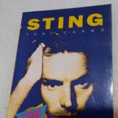 Catálogos de Música: STING - TONI GARBO. Lote 234949085