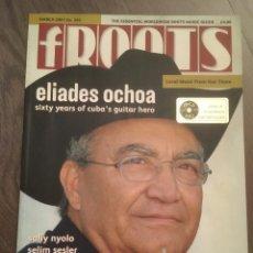 Catálogos de Música: ELIADES OCHOA. SON CUBANO. REVISTA INGLESA . VER FOTOS. Lote 234967460