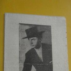 Cataloghi di Musica: ANTIGUO CANCIONERO.ANTONIO MOLINA.MAGO DEL CANTE.IMP RODAS.MADRID.. Lote 235140100