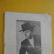 Cataloghi di Musica: ANTIGUO CANCIONERO.ANTONIO MOLINA.GRAN CREADOR DEL CANTE.IMP RODAS.MADRID. Lote 235142010