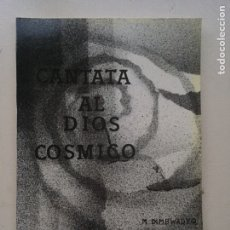 Catálogos de Música: CANTATA AL DIOS CÓSMICO. Lote 235178100