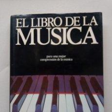 Catálogos de Música: EL LIBRO DE LA MUSICA. Lote 235246180