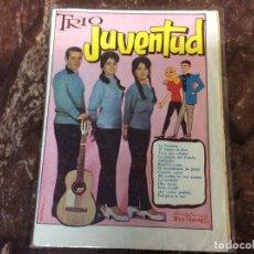 Catálogos de Música: TRIO JUVENTUD / CANCIONERO. Lote 235560730