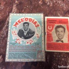 Catálogos de Música: LUIS MARIANO / CANCIONEROS LOTE DE DOS... Lote 235560975