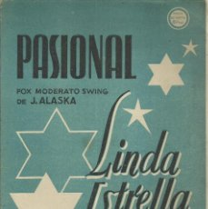 Catálogos de Música: LINDA ESTRELLA. PASIONAL DE PEDRO OLTRA. Lote 235566665