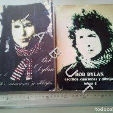 Catálogos de Música: BOB DYLAN ESCRITOS CANCIONES DIBUJOS 2 TOMOS FAM6. Lote 235591015