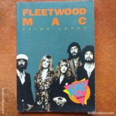 Catálogos de Música: FLEETWOOD MAC - JAIME LOPEZ. VIDEO ROCK SALVAT. Lote 235673080