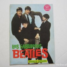 Catálogos de Música: THE BEATLES-LOS FABULOSOS BEATLES-JOHN LENNON-PAUL MCCARTNEY-HARRISON-RINGO STARR-VER FOTOS-(K-1692). Lote 236255680