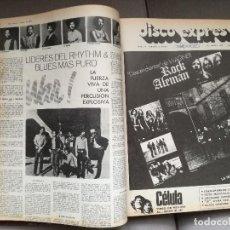 Catálogos de Música: REVISTA DISCO EXPRES TOMO ENCUADERNADO DEL Nº 201 AL 240. Lote 237306610