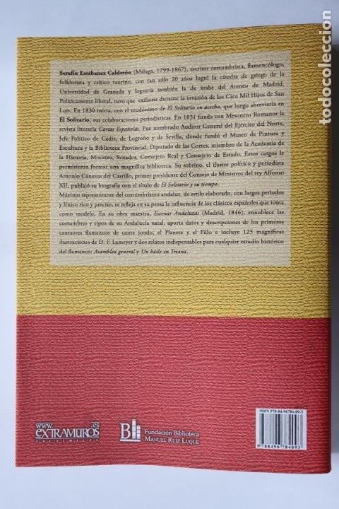 Catálogos de Música: Estébanez Calderón, Serafín, El Solitario: Escenas andaluzas. Flamenco Facsímil de la 1º ed. (1847) - Foto 2 - 239857475