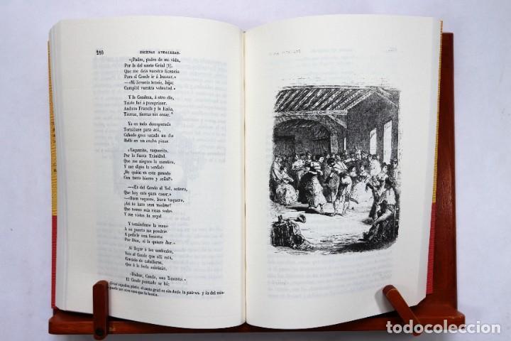 Catálogos de Música: Estébanez Calderón, Serafín, El Solitario: Escenas andaluzas. Flamenco Facsímil de la 1º ed. (1847) - Foto 4 - 239857475