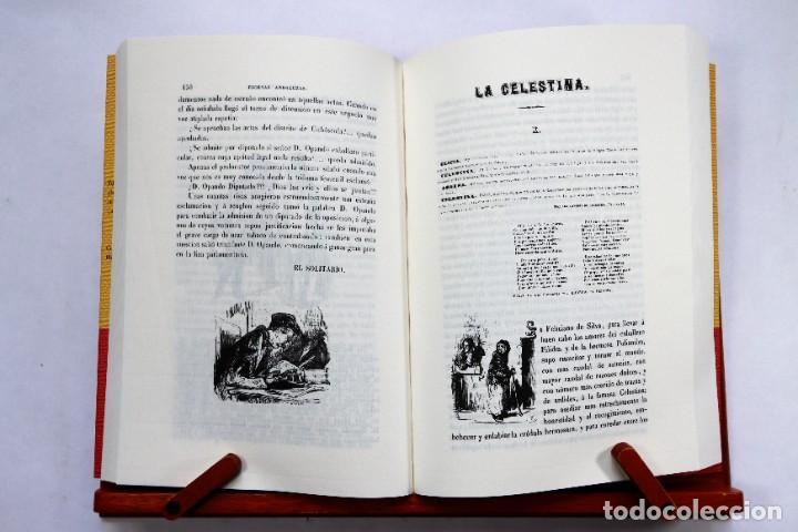 Catálogos de Música: Estébanez Calderón, Serafín, El Solitario: Escenas andaluzas. Flamenco Facsímil de la 1º ed. (1847) - Foto 5 - 239857475