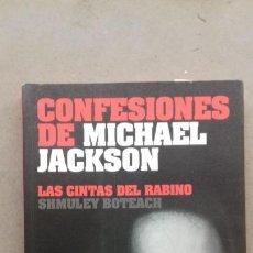 Catálogos de Música: LAS CONFESIONES DE MICHAEL JACKSON. Lote 240589620