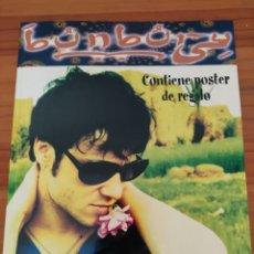 Catálogos de Música: LIBRO BUNBURY. COLECCIÓN ÍDOLOS DEL POP. ARTURO BLAY. INCLUYE EL PÓSTER. Lote 242818355