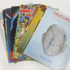 Catálogos de Música: 9 CATALOGOS O REVISTAS BID DE DISCOPLAY - REVISTA BOLETIN MUSICAL DE 1983. Lote 243577880