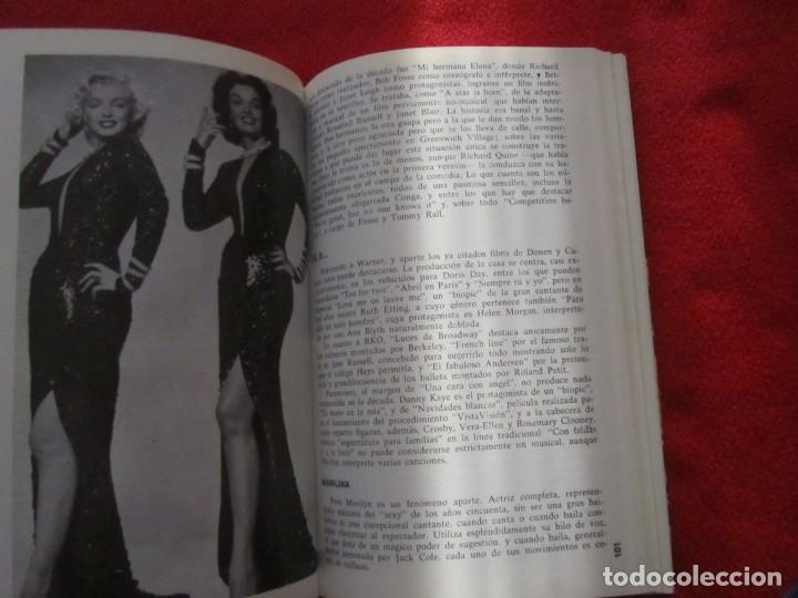 Catálogos de Música: LIBRO EL MUSICAL AMERICANO DE CESAR S.FONTENLA LIZA MINNELLI, MARILYN MONROE GENE KELLY RITA HAYWORT - Foto 10 - 244746575