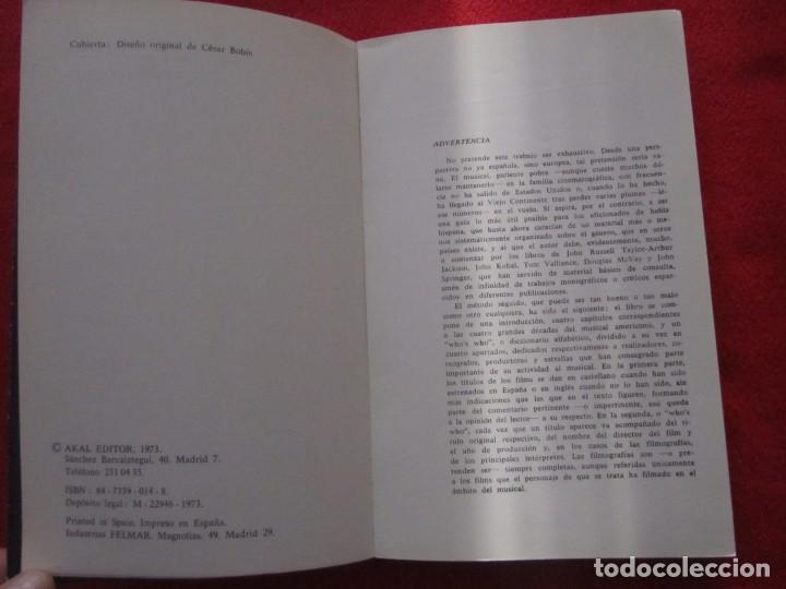 Catálogos de Música: LIBRO EL MUSICAL AMERICANO DE CESAR S.FONTENLA LIZA MINNELLI, MARILYN MONROE GENE KELLY RITA HAYWORT - Foto 13 - 244746575
