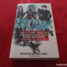 Catálogos de Música: LIBRO IAN MAC MCLAGAN ALL THE RAGE, SMALL FACES, THE FACES, ROLLING STONES. Lote 244749950