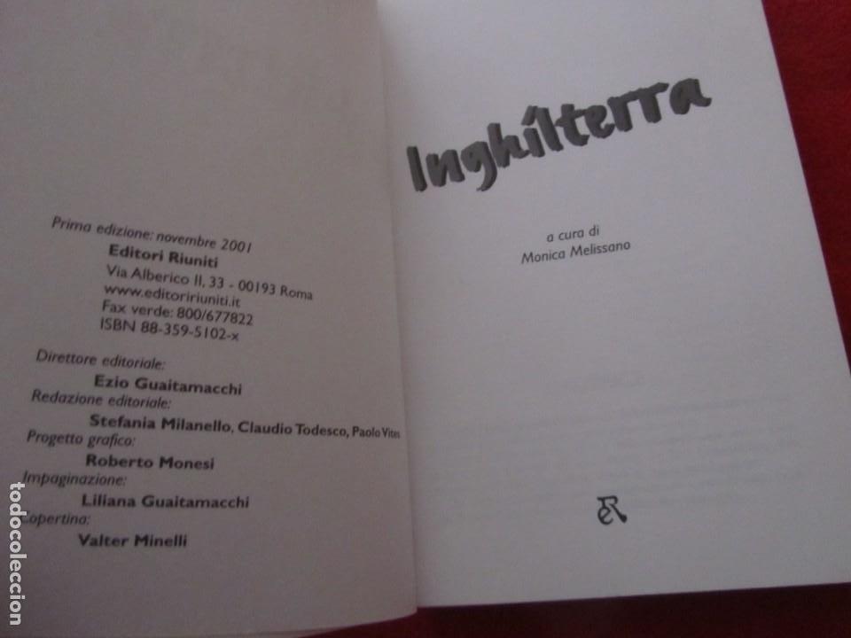 Catálogos de Música: GUIA DEL ROCK DE INGLATERRA, EN ITALIANO, MONICA MELISSANO,THE BEATLES,ROLLING STONES,CLASH,BOWIE - Foto 2 - 244751530