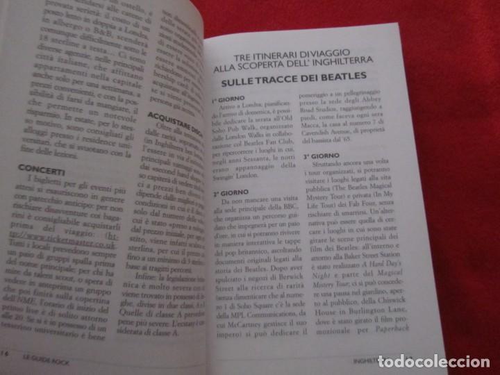 Catálogos de Música: GUIA DEL ROCK DE INGLATERRA, EN ITALIANO, MONICA MELISSANO,THE BEATLES,ROLLING STONES,CLASH,BOWIE - Foto 4 - 244751530