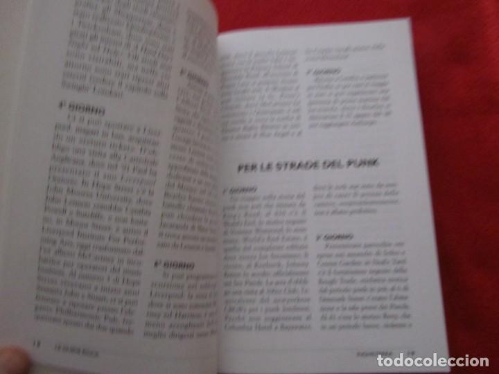 Catálogos de Música: GUIA DEL ROCK DE INGLATERRA, EN ITALIANO, MONICA MELISSANO,THE BEATLES,ROLLING STONES,CLASH,BOWIE - Foto 5 - 244751530