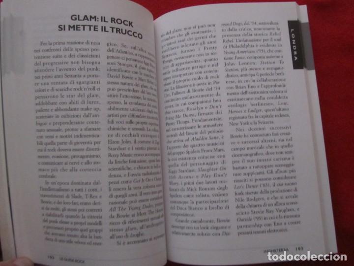 Catálogos de Música: GUIA DEL ROCK DE INGLATERRA, EN ITALIANO, MONICA MELISSANO,THE BEATLES,ROLLING STONES,CLASH,BOWIE - Foto 8 - 244751530