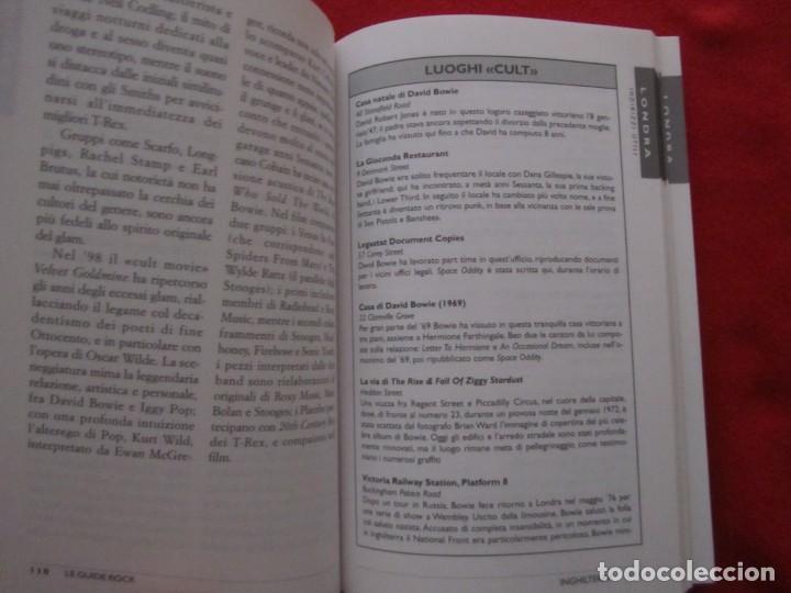 Catálogos de Música: GUIA DEL ROCK DE INGLATERRA, EN ITALIANO, MONICA MELISSANO,THE BEATLES,ROLLING STONES,CLASH,BOWIE - Foto 9 - 244751530