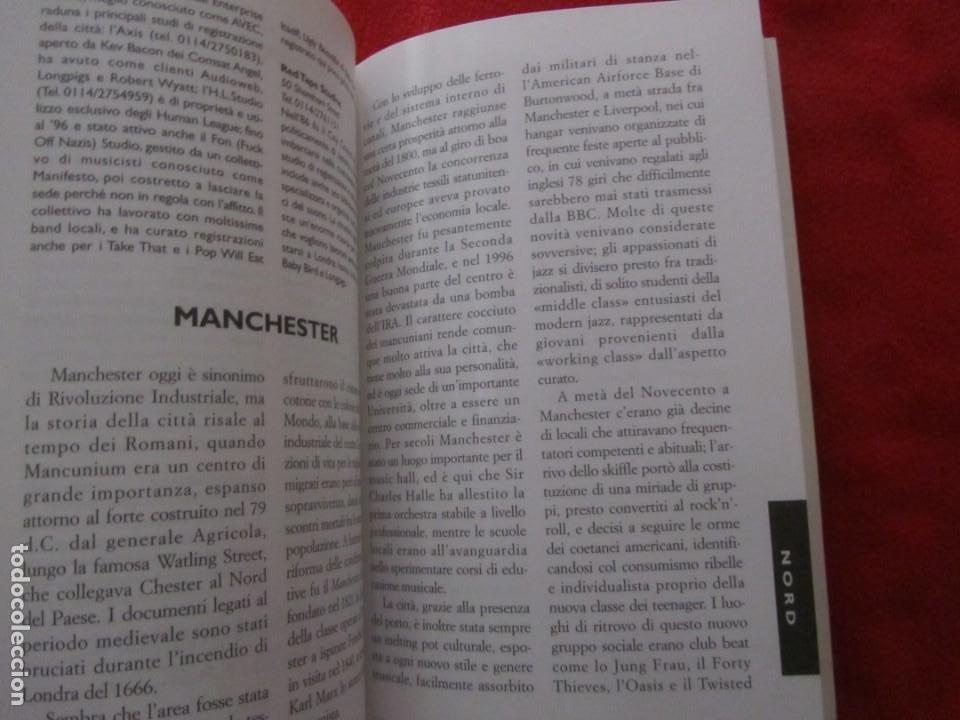 Catálogos de Música: GUIA DEL ROCK DE INGLATERRA, EN ITALIANO, MONICA MELISSANO,THE BEATLES,ROLLING STONES,CLASH,BOWIE - Foto 14 - 244751530