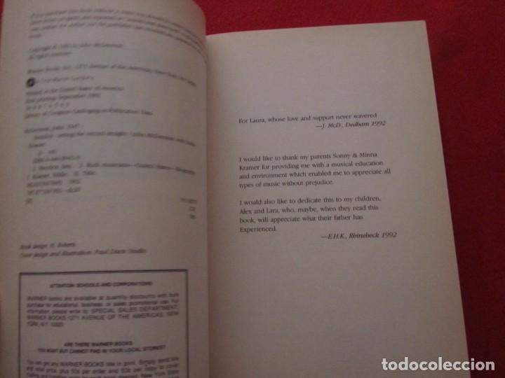 Catálogos de Música: LIBRO SOBRE JIMI HENDRIX DE JOHN MCDERMOTT WITH EDDIE KRAMER, SETTING THE RECORD STRAIGHT - Foto 3 - 244753865
