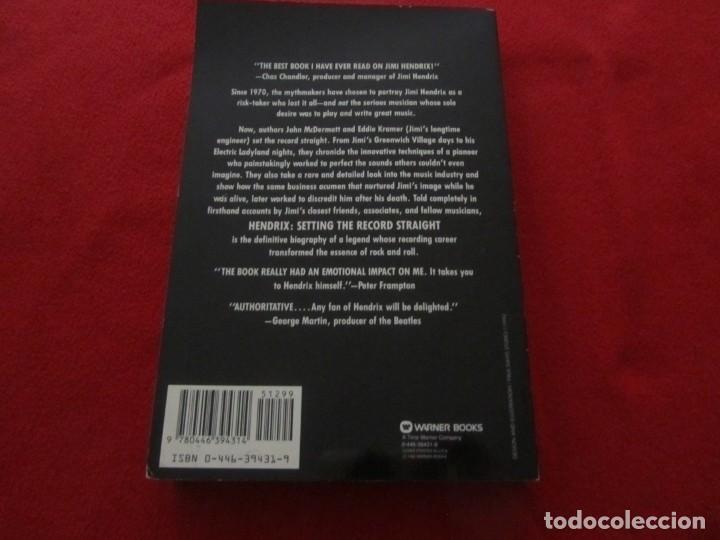 Catálogos de Música: LIBRO SOBRE JIMI HENDRIX DE JOHN MCDERMOTT WITH EDDIE KRAMER, SETTING THE RECORD STRAIGHT - Foto 7 - 244753865