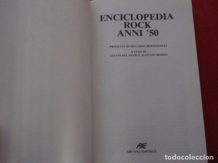 Catálogos de Música: ENCICLOPEDIA DEL ROCK AÑOS 50 EN ITALIANO, B.B.KING,RAY CHARLES,EDDIE COCHRAN,ETTA JAMES,BUDDY HOLLY - Foto 3 - 244755125