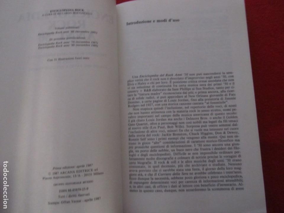 Catálogos de Música: ENCICLOPEDIA DEL ROCK AÑOS 50 EN ITALIANO, B.B.KING,RAY CHARLES,EDDIE COCHRAN,ETTA JAMES,BUDDY HOLLY - Foto 4 - 244755125