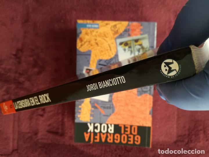 Catálogos de Música: 4 LIBROS - HISTORIA DEL ROCK - GEOGRAFIA - DIARIO - LA CENSURA EN EL ROCK - Foto 4 - 244755205