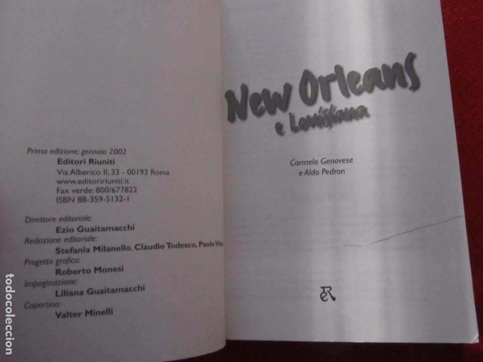 Catálogos de Música: GUIA DEL ROCK DE NUEVA ORLEANS Y LOUISIANA DE CARMELO GENOVESE, BLUES,NEVILLE BROTHERS,DR.JOHN - Foto 3 - 244759135