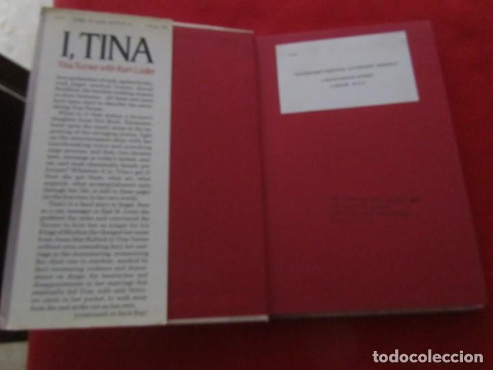 Catálogos de Música: TINA TURNER LIBRO I TINA MY LIFE STORY, TINA TURNER WITH KURT LODER CON POSTER PROMOCIONAL - Foto 2 - 244777060