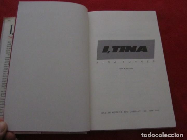 Catálogos de Música: TINA TURNER LIBRO I TINA MY LIFE STORY, TINA TURNER WITH KURT LODER CON POSTER PROMOCIONAL - Foto 3 - 244777060