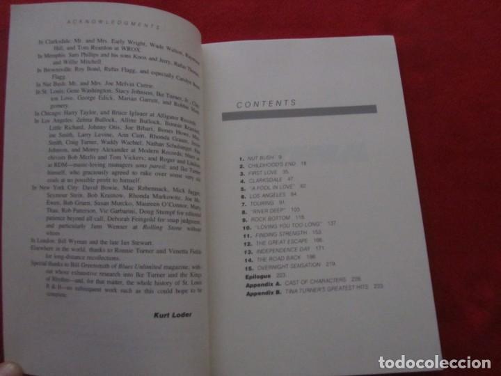 Catálogos de Música: TINA TURNER LIBRO I TINA MY LIFE STORY, TINA TURNER WITH KURT LODER CON POSTER PROMOCIONAL - Foto 5 - 244777060
