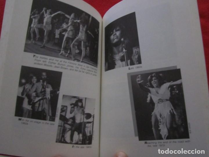 Catálogos de Música: TINA TURNER LIBRO I TINA MY LIFE STORY, TINA TURNER WITH KURT LODER CON POSTER PROMOCIONAL - Foto 10 - 244777060