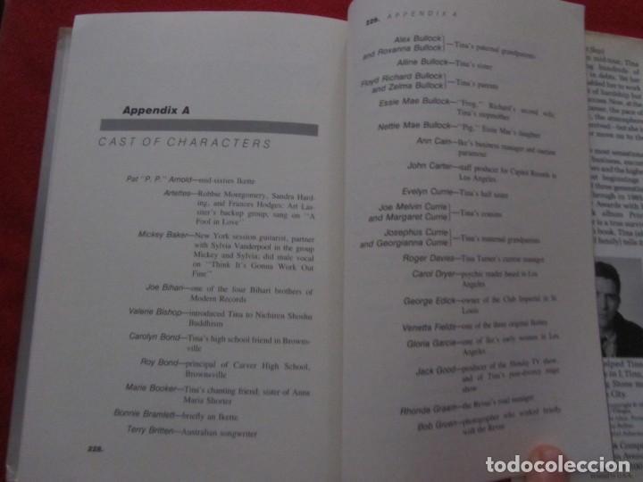 Catálogos de Música: TINA TURNER LIBRO I TINA MY LIFE STORY, TINA TURNER WITH KURT LODER CON POSTER PROMOCIONAL - Foto 12 - 244777060